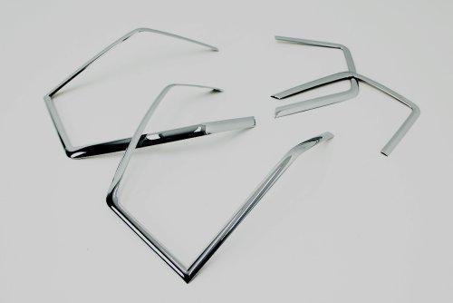 Accessoires pour Orlando Chrome Feux arrière Cadre Couvercle Tuning FEUX arrière Cadre Rear Lamp Molding