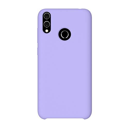 Riyeri Funda para Huawei Honor 8C/8X Ultra-Delgado Anti-Arañazos Funda Protectora Silicone Cover Funda Estuche Resistente para Huawei Honor 8C/8X (Morado, Honor 8X)