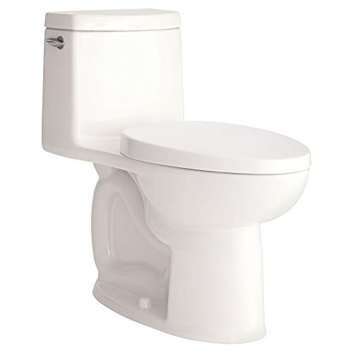 American Standard 2535128.02 2535128.020 1 Piece Loft Right Height Elongated Toilet, White