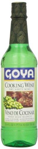 Goya Dry White Cooking Wine (Vino Seco Blanco) 25.4 OZ