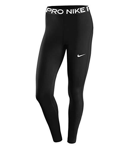 Nike Damen W Np 365 Tight Leggings, Black/(White), L