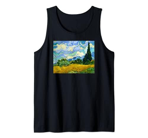 Van Gogh 'Weizenfeld mit Zypressen'...