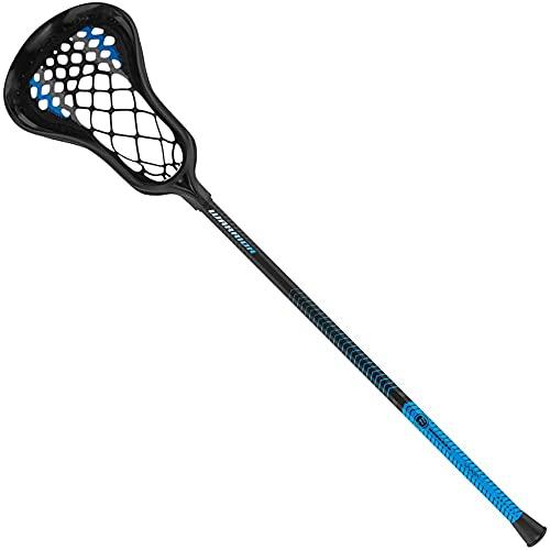 Warrior Evo Warp Mini Complete Lacrosse Stick (Black)