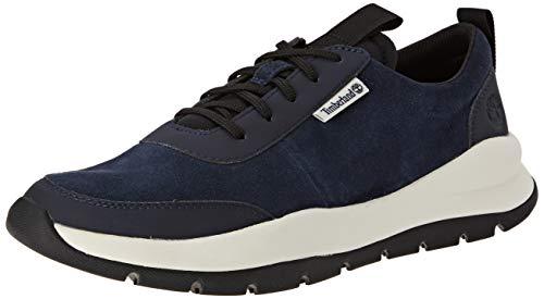 Timberland Boroughs Project Leather Oxford, Zapatillas Bajas Hombre, Azul Dark Blue Suede, 43 EU