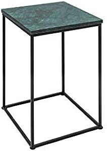DOLSOFA DIST Tavolino Elegante Tavolo di Marmo Nobile IV Marmo Verde