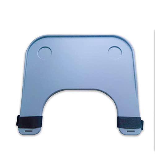SLJJC Rollstuhl-Tray-Tabelle MIT Tassenhalter Wechselrichter Rollstuhl-Runden-Tablett, tragbarer Rollstuhl-Schreibtisch-Zubehör, für manuelles angetriebene oder elektrische Rollstühle