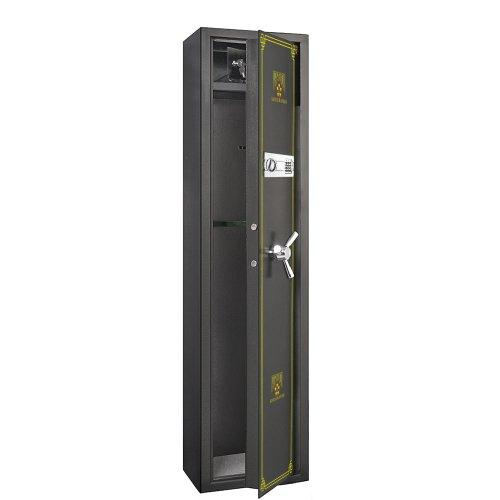 7501 Paragon Lock & Safe Electronic 5 Gun Rifle Safe 4.26cf Gun Cabinet for Firearms