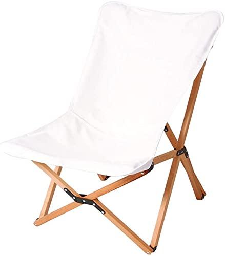 QUERT Silla de Camping al Aire Libre, taburetes de jardín portátiles, Asiento de Pesca Plegable, Superficie de Silla Desmontable para una fácil Limpieza, Fabri de Viaje