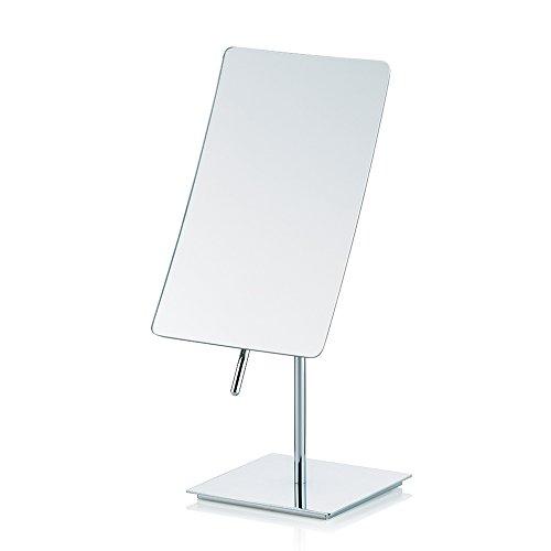 Kela 20626 Standspiegel, 5-fach Vergrößerung, 30,5cm, Metall, Saguna, Verchromt