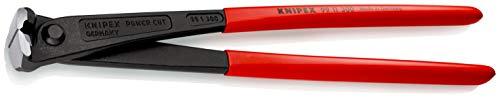 KNIPEX 99 11 300 Kraft-Monierzange hochübersetzt schwarz atramentiert mit Kunststoff überzogen 300 mm