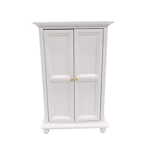 Puppenschrank Miniaturpuppenhaus Möbel Wohnzimmer -Bett-Zimmer Puppenstuben Dekoration