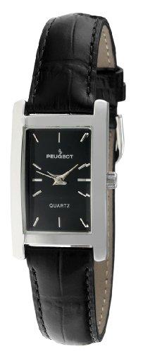"Peugeot Women Rectangular""H"" Shape Wrist Watch with Matching Wrist Strap"