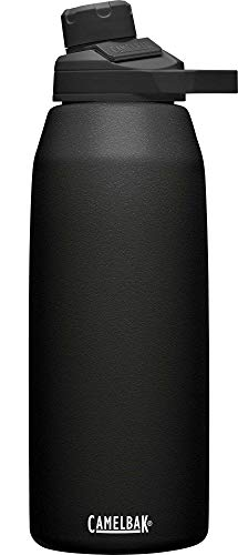 CAMELBAK Unisex– Erwachsene Chute Mag SST Vacuum Insulated Trinkflasche, Black, 40oz