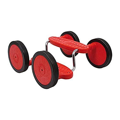 Small Foot 4912 Pedal-Roller Rotini aus Kunststoff und Metall, schult Motorik und Gleichgewichtssinn, ab 5 Jahren