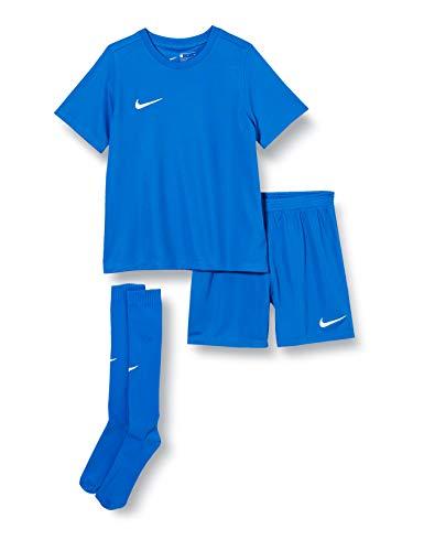 NIKE LK NK Dry Park20 Kit Set K Football Set, Unisex niños, Royal Blue/Royal Blue/White, S