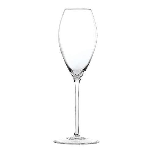 Spiegelau Novo Champagnerglas, Champagner Glas, Sektglas, Trinkglas, Kristallglas, 280 ml, 1300029