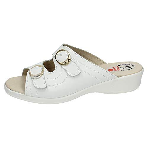 DCHUS 6030 Zueco ANATOMICO CHUS Mujer Calzado Trabajo Blanco 40