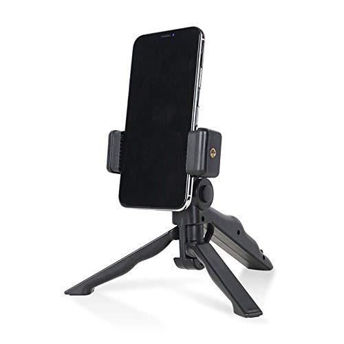 YOREN Mini Teléfono Inteligente Trípode Multiusos Soporte para Selfie de Teléfono Inteligente de Mano Soporte de Escritorio/Mesa para Teléfono Celular