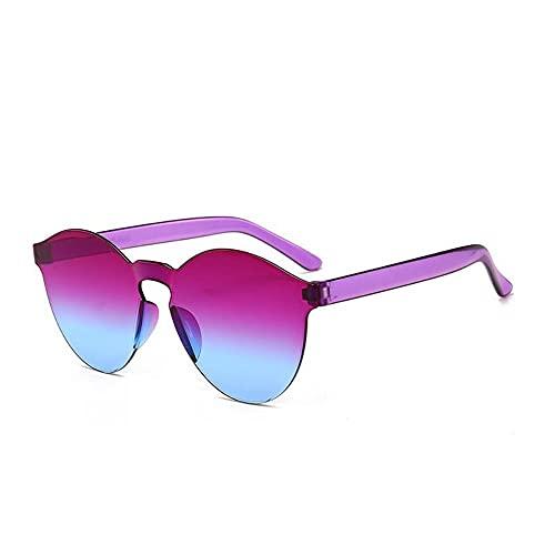 MU-PPX Gafas De Sol para Mujer Gafas De Sol Gafas De Sol Color Caramelo Gafas De Sol Polarizadas con Protección Uv400 Vintage Shades para Mujer