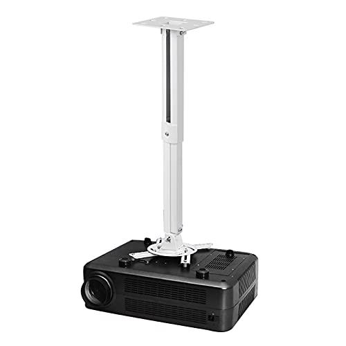 Suptek Projektor-Deckenhalterung – Universelle Projektor-Wandhalterung mit 21–54 cm Verlängerungsstange bis zu 13,6 kg Tragfähigkeit PR05W
