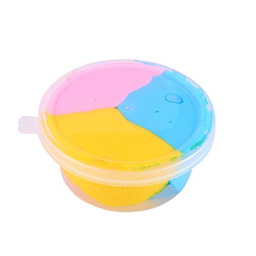 DIY Colorful Fluffy Foam Slime Putty Stress Relief Slime Sludge Cotton Mud Children Adult Toy Anti-Stress Toys Clay