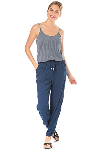 Ragwear Damen Story Marina Jumpsuit blau S
