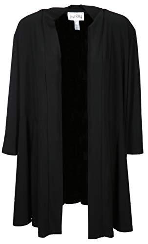 Joseph Ribkoff Damen Long Blazer Größe 48 EU Schwarz (schwarz)
