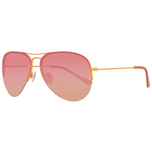 United Colors of Benetton BE922S06 Gafas de sol, Orange, 60 Unisex
