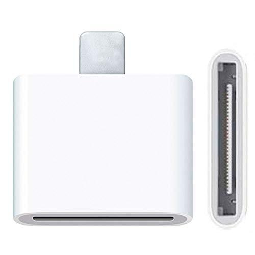 OcioDual Adaptador Conector Dock de 30 Pin a Lightning 8 Pin para...