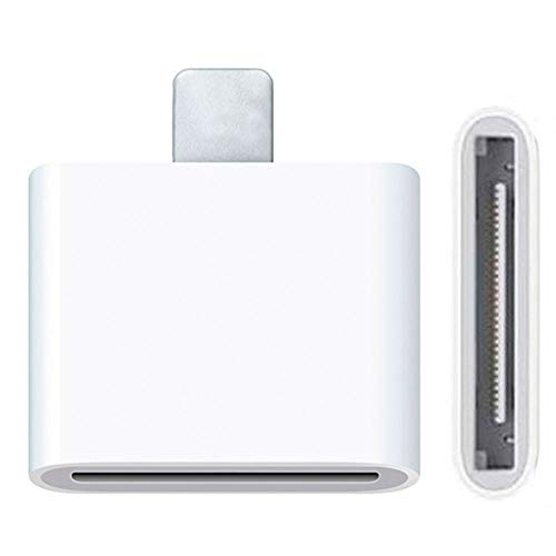 OcioDual Adaptador Conector Dock de 30 Pin a Lightning 8 Pin para iPhone 6, iPad Mini y iPad Retina