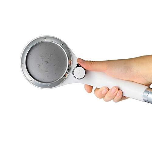 Floridivy Interruptor de Mano de presión de Empuje orientable Ducha Cabeza de...