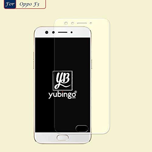YuBingo Screen Guard for Oppo F3 (Flexible. Shatter & Scratch Resistant, HD Clarity, Case Friendly)