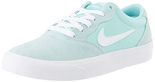 Nike SB Chron Solarsoft, Gymnastics Shoe Unisex-Adulto, Light Dew/White-Light Dew-White, 36 EU