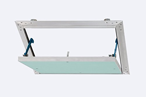 Revisionsklappe Revisionstür Revitür Reviklappe mit feuchtraumgeeigneter Gipskartoneinlage 12,5 mm GKBI-Einlage 30 x 30 cm