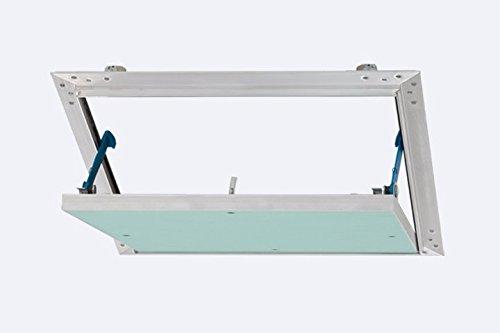 Revisionsklappe Revisionstür Revitür Reviklappe mit feuchtraumgeeigneter Gipskartoneinlage 12,5 mm GKBI-Einlage 40 x 40 cm