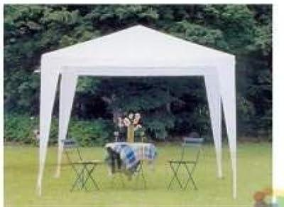 Gazebo Super Economico Bianco 3x3 Per Mercati Fiere Camping Feste