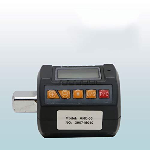 JYDQM Shahe Precision Mini Torque Adaptador de par de torsión 1/2 '' Llave de Torque Digital Exterior Torcal Digital (Size : 30v)