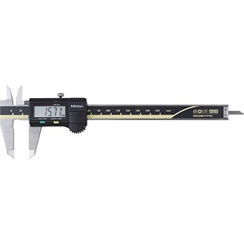 MITUTOYO Digital Messschieber ohne Datenausgang DIN 862, Tiefenmaß flach 0-150 mm