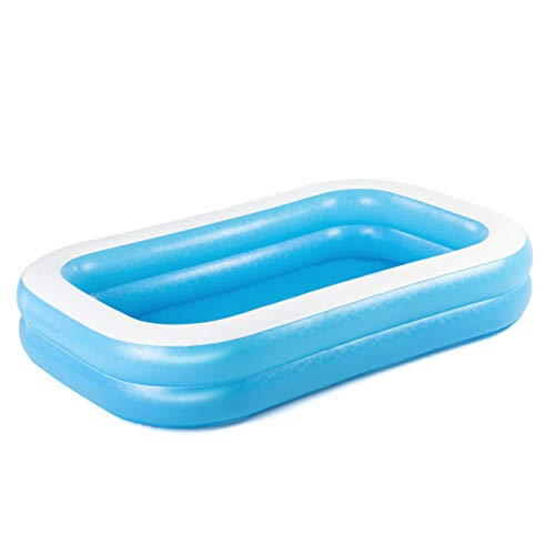 BESTWAY 54006 - Piscina Hinchable Infantil Rectangular 262x175x51 cm