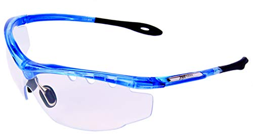 Rapid Eyewear–Gafas Deportivas con Lentes claros para Squash, Ciclismo, Tiro y Vela. Transparente Gafas de Sol para Hombre y Mujer. Protección UV400