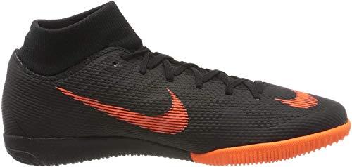Nike Herren SuperflyX 6 Academy IC Fußballschuhe, Schwarz (Black/Total Orange-W 081), 38.5 EU