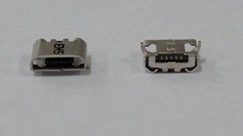 Für Huawei Y5 II 3G (CUN-U29), für Huawei Y5II 4G (CUN-L21) Y5 2 Y52 (CUN U 29 L21), Ersatz-Ladeanschluss, Micro-USB-Anschluss für 5Pin 4 Stangen