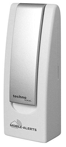 Basisstation, MA 10000, Mobile Alerts, Hausüberwachung, Hausüberwachungs-System, beliebig erweiterbar, zur Temperaturüberwachung und Haussicherheit, weiß 4 x 2,5 x 10,3 cm