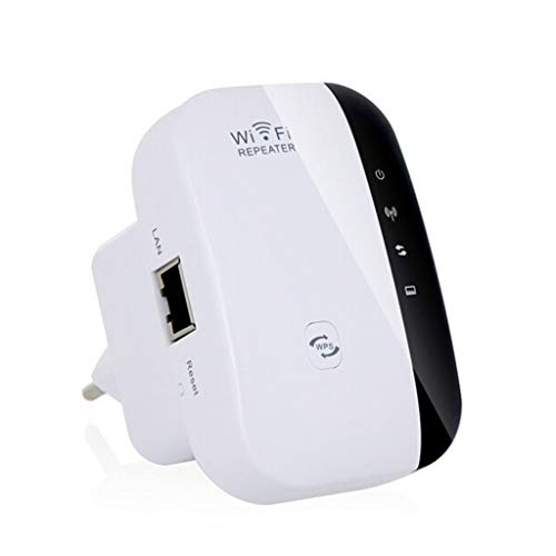 AIYE WiFi repeater Long range extender versterker 300 Mbit/s 2,4 GHz netwerkadapter Wireless Mini AP Access Point Mini AP signaalversterker