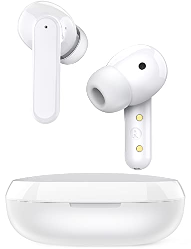 Wireless Earbuds Hybrid Active Noise Cancelling, Coumi Free Dots ANC Earphones with Transparency Mode Bluetooth 5.2 in-Ear Headphones with Mic TWS Stereo Deep Bass IPX7 Waterproof Earbuds USB-C Charge