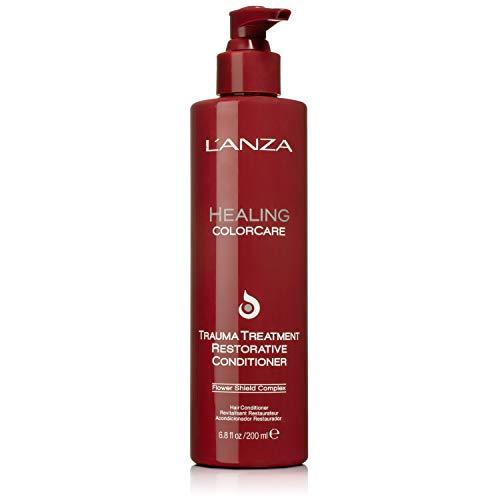 L'ANZA Trauma Treatment Restorative Conditioner- Hair Color Conditioner - Hair Conditioner for Color Treated Hair 6.8 fl. oz