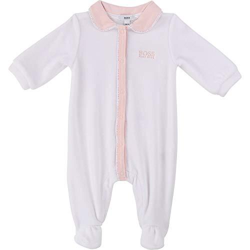 Hugo Boss Body pour bébé Nicky avec col - Blanc - 9 mois
