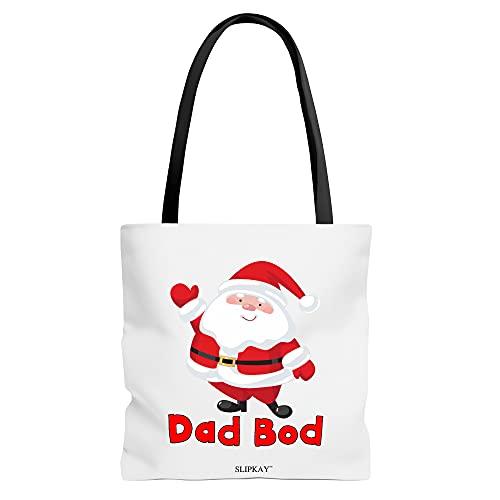 Dad Bod Santa Claus Christmas Toe Bag