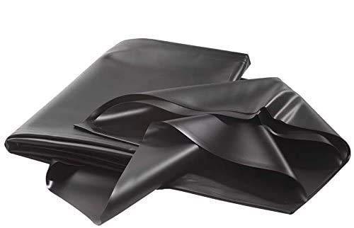 AGRIPRO Telo Puro PVC Nero atossico per laghetto e Stagno MT 6X6