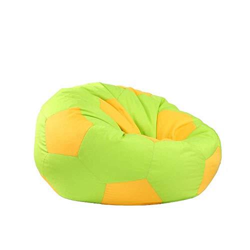 Kutera Loungesofa, grote gaming-zitzak voor binnen en buiten, perfecte lounge of gamingstoel, huis of tuin, zacht en comfortabel, groen 80 cm groen